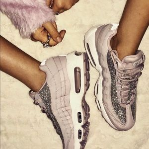Nike Shoes - NWT Nike Air Max 95 special edition pink glitter acec7c002
